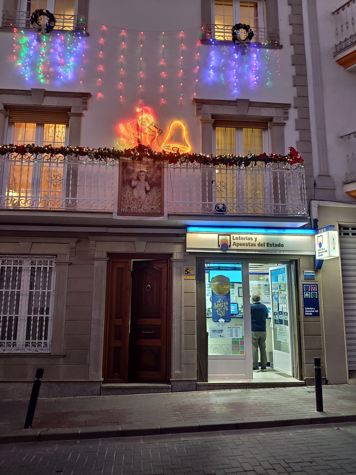 Lotería Juanito de Huelma Jaén en navidad 2019